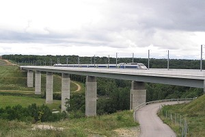 High-speed rail bridges