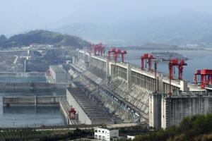 Jangtse-Staudamm