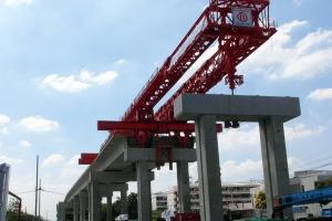 Neue Hochbahn in Bangkok