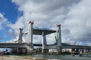 New bridge in Gothenburg