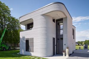 Erstes gedrucktes Haus Deutschlands