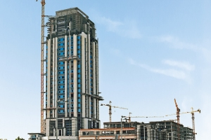 The Marina COM-05 Tower in Lusail