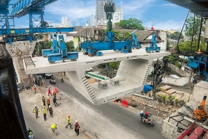 New Viaduct for Busway in Jakarta