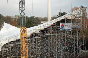 Sanierung des Dortmunder Sonnensegels