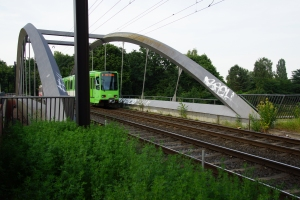 Grosser Kolonnenweg Tramway Bridge