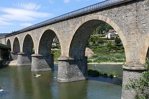 Ponts en arc en plein cintre