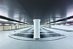 Underground parking garages