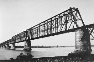 Ponts en poutre en treillis type Whipple