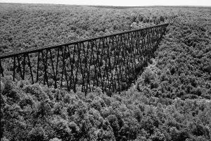 Ponts sur chevalets / ponts à tréteaux