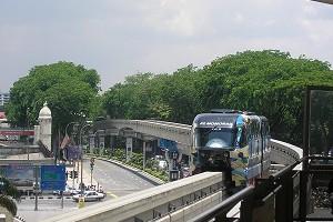Monorail-Brücken (Einschienenbahn-Brücken)