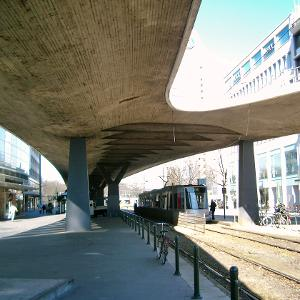 Jan-Wellem-Platz Elevated Road