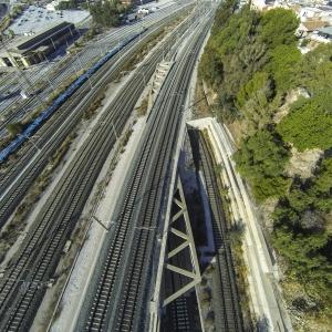 Los Prados Railroad Flyover