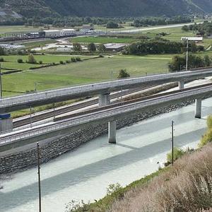Raron Rail Bridges
