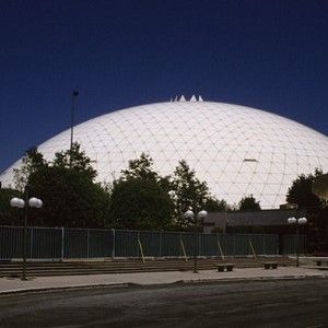 Spruce Goose Hangar Dome Long Beach 1982 Structurae