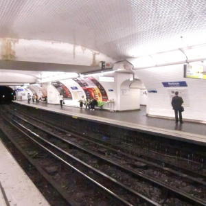 Ligne No. 9 du Métro de Paris