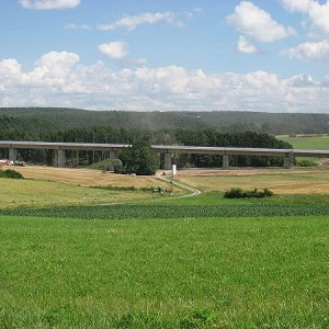 High-speed Rail Line Ebensfeld-Erfurt