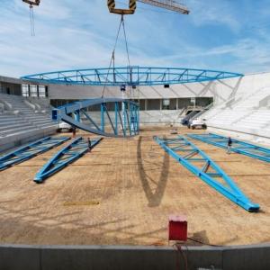 Eisstadion EgeTrans-Arena in Bietigheim-Bissingen