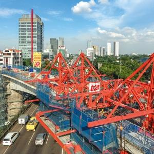Light Rail Project MRT Jakarta