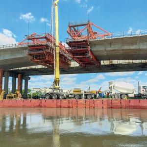 Neue I-10 Neches River Bridge