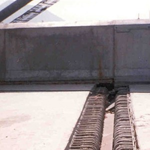 <p>Expansion Joint recess including required reinforcing bars</p>