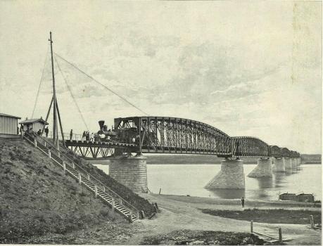 Pont ferroviaire de Novossibirsk
