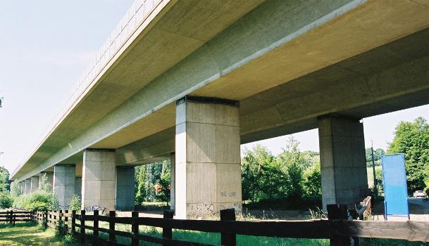 Autobahn A3 –  Neandertalbrücke, Erkrath