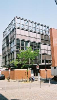 Medienhafen, Düsseldorf – Kaistrasse