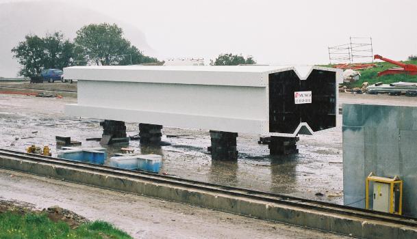 Viaduc de MillauDernier élément pour un pylône