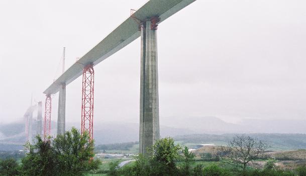 Viaduc de MillauVue vers le nord