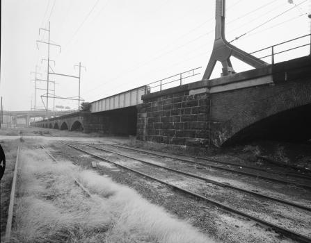 Pennsylvania Railroad Brick Arch Viaduct