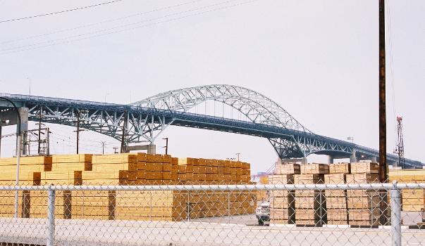 Gerald Desmond Bridge, Los Angeles/Long Beach.