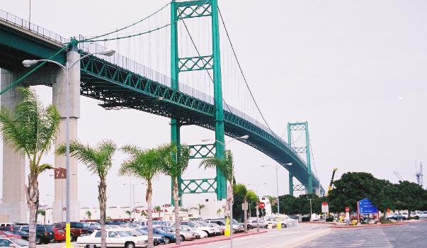 Vincent Thomas Bridge, Los Angeles.