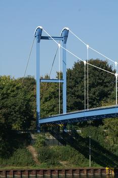 Rohrbrücke, Gelsenkirchen.