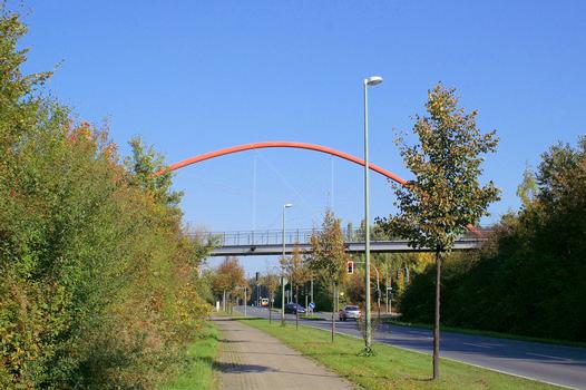 Fußgängerbrücke, Nordsternpark, Gelsenkirchen
