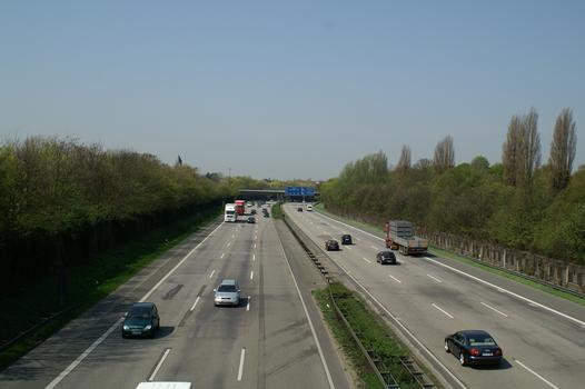 Autobahn A 46, Düsseldorf-Wersten