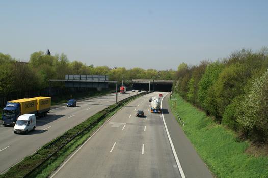 Autobahn A 46, Düsseldorf-Wersten – Tunnel de Wersten