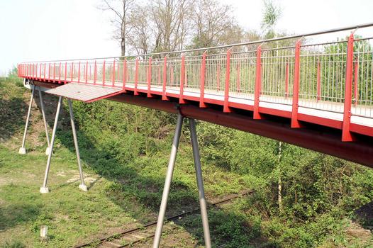 Nouveau pont de la Erzbahn, Bochum-Hamme