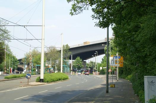 Autobahn A59 Grunewald Bridge