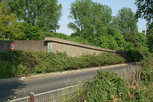 Rheinalleetunnel, Düsseldorf