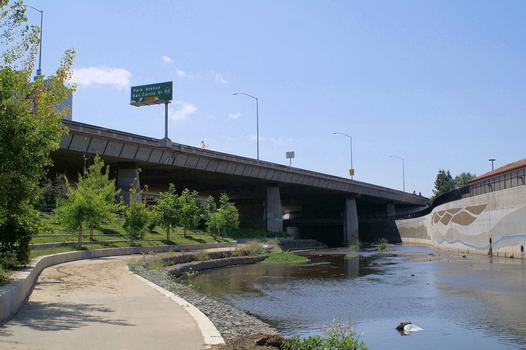 Guadalupebrücke Route 87, San Jose, Kalifornien