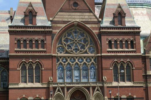Harvard University - Memorial Hall, Cambridge, Massachusetts