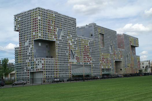 MIT - Simmons Hall, Cambridge, Massachusetts