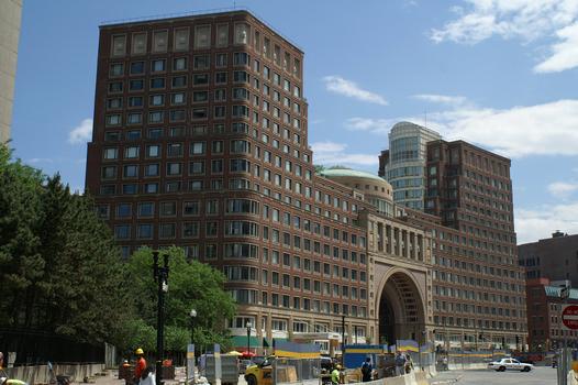Rowes Wharf, Boston, Massachusetts