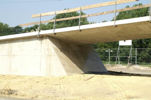 Fuß- und Radwegbrücke Ruhrallee (B54), Dortmund