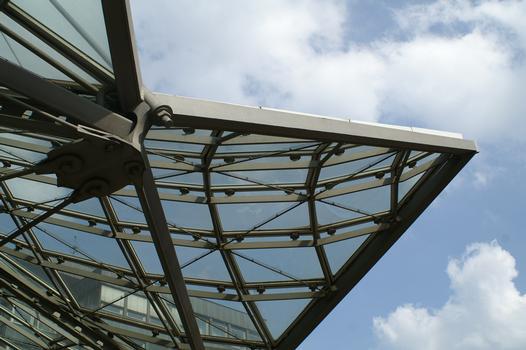Tramway and subway station at Reinoldi Church, Dortmund