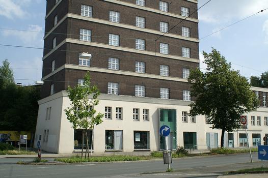 Château d'eau de la gare sud de Dortmund