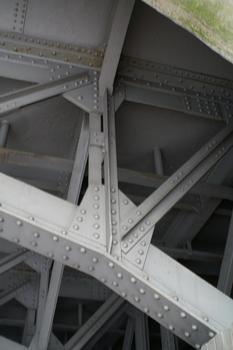 Pont ferroviaire sur l'Unionsstrasse à Dortmund