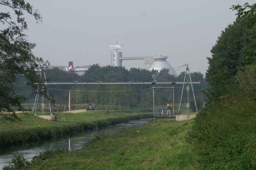 Erlebnisbrücke, Mönchengladbach Miniature Transporter Bridge