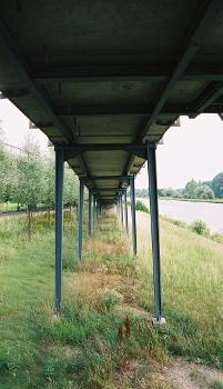 Brücke über den Schleusenkanal, Ratisbonne
