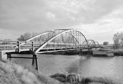 Fort Laramie Bowstring Arch Truss Bridge
